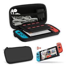 Carry Travel Case Storage Bag Handbag For Nintendo Switch+3 Screen Protector