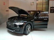 2016 Maserati Levante Negro 1 24 Welly 24078