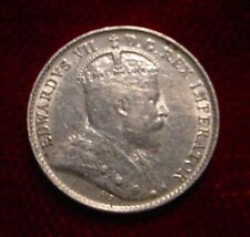 BETTER GRADE 1902 SILVER 5 CENTS CANADA**NICE DETAILS