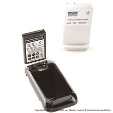 3500mAh Extended Battery for Black Samsung Galaxy S Indulge R910 Charger