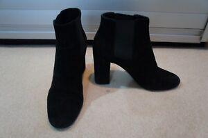 Saint Laurent Black suede boots 37/UK 4