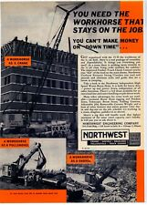 1961 Northwest Engineering Ad: Northwest Workhorse Shovel - Louisville, Kentucky