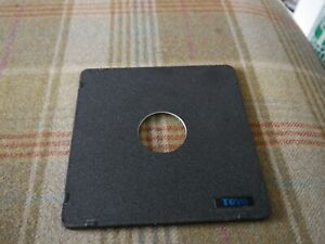 Toyo lens board to fit large format 5x4 inch cameras copal 1