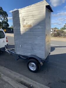 Builders portable site toilet Trailer Towable READY TO USE .... In GEELONG