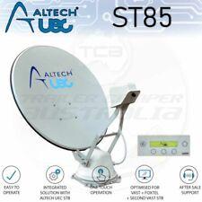 Altech UEC Halo ST85 Motorised Satellite Dish Vast Foxtel Caravan TV