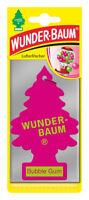 Wunderbaum® 10 Stück Bubble Gum Lufterfrischer Duftbaum Duft Auto Kaugummi