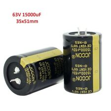 1pcs 63V 15000uF Snap-in Electrolytic Capacitor 105C For Audio Amplifier 35x51mm