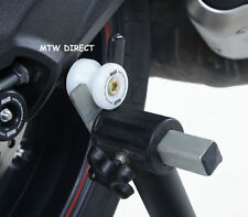 BMW S1000RR (2010) R&G RACING white cotton reels paddock stand bobbins