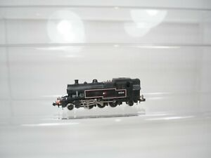 Minitrix N Gauge Ivatt 2-6-2 Tank Locomotive 41234 BR Black