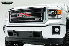 2014 GMC SIERRA 1500 4PC BLACK POWDERCOATED UPPER BILLET GRILLE GRILL T-REX
