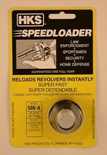 HKS 586/586-A Speed Loader 38/357 Mag Fits S&W Ruger New In Package 586-A