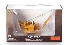 Norscot 55210 Caterpillar Cat 572C Pipelayer with Metal Tracks Diecast 1:50