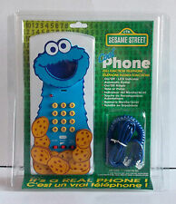 SESAME STREET COOKIE MONSTER TELEPHONE FROM 1997  REAL CORDED PHONE!