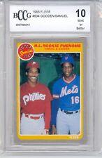 1985 Fleer NL Rookie Phenoms (Samuel & Gooden) (#634) BCCG10 BCCG