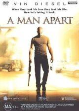 A MAN APART DVD GOOD CONDITION 2003 MOVIE FILM VIN DIESEL REGION 4 AUSSIE SELLER
