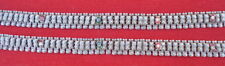 Pair Belly Dance India Ethnic Tribal Old Silver Anklet