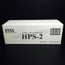 STAX HPS-2 EarSpeakers Headphones Natural Wood Stand for SR-009 SR-507 Brand New