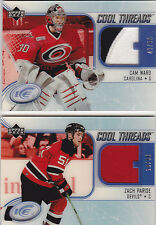 05-06 UD Ice Cam Ward /50 Patch Cool Threads Glass Upper Deck 2005