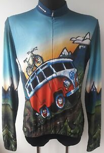 Sugoi Volkswagen VW Bus Cycling Longe Sleeve Jersey