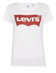 LEVI'S Short Sleeve Logo T-shirt In Bright White