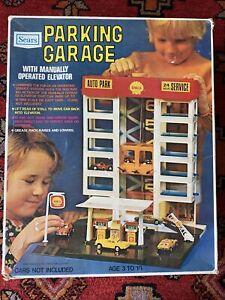 Vintage SEARS Kmart Shell Parking Garage Shell