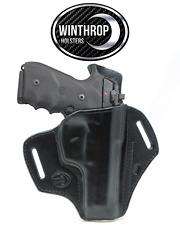Beretta 92D 5 inch barrel OWB w/Bodyshield Holster Right Handed Black