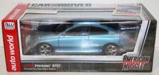 Véhicules miniatures bleus cars 1:18