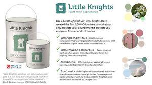 100% Odour VOC Free Little Knights Nursery Paint Antibacterial baby safe 1 coat