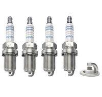4x pour RENAULT MEGANE MK2 1.6 16 V Genuine Denso Standard spark plugs