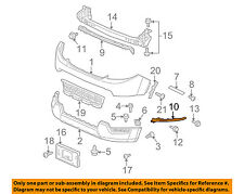 2009-2011 HONDA Element Front Bumper Upper Retainer Right OEM New 71160-SCV-A50