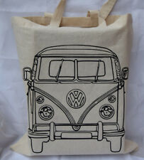 Camper Van cotton Tote Bag  - ideal birthday gift / fathers day gift