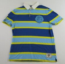 LI-NING RUGBY ASSOCIATION Embroidered SS Polo Rugby Shirt Size L