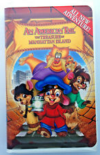 An American Tail the treasure of Manhattan Island VHS video tape 1999