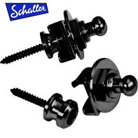 NEW - Genuine Schaller 1446 Black Strap Lock System