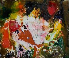 LISTED Matt Lamb (1932-2012) Interesting Abstract Oil Painting #2 NO RESERVE