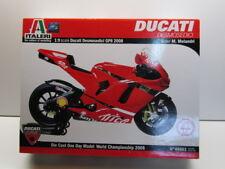 Italeri 1:9 Scale Marco Melandri  #33 Ducati GP8 Quick Assembly Model Kit - New