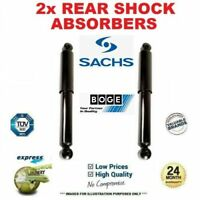 2x SACHS/BOGE Rear Axle SHOCK ABSORBERS for BMW 3 Coupe (E92) 330d 2006-2013
