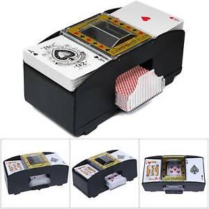 Automatische Poker Kartenmischmaschine Kartenmischer Kartenmischgerät Elektrisch