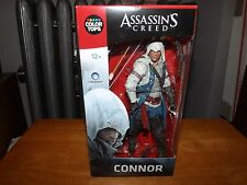 "MCFARLANE TOYS, ASSASSIN'S CREED, COLOR TOPS, #5 CONNOR 7"" FIGURE, NIB, 2016"