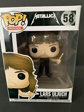 Funko Pop Rocks: Metallica - Lars Ulrich Vinyl Figure Item #13807