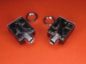AUX 3,5 ,Klinkenbuchse, Einbaubuchse Audio, Klinke 3,5mm mit Rändelmutter 2Stück
