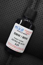 ASTRO BLACK A25 TOUCH UP KIT MINI JOHN COOPER S BOTTLE BRUSH REPAIR PAINT CHIP