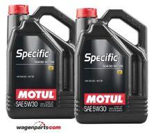 Motul Specific Volkswagen 50400 50700 5W30, motor Audi Seat Skoda TDI, Pack 10 L