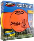 3 Pack PRO Innova Disc Golf Set Driver Mid Range Putter Comfortable DX Plastic