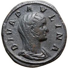 SCARCE ROMAN SESTERTIUS PAVLINA WIFE OF MAXIMINUS I STRUCK 236 AD