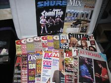 New ListingVintage Guitar World and other music Mags