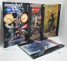 ULTIMATE X-MEN DELUXE lotto 4 volumi Marvel Italia Panini Comics