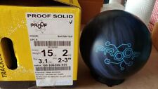NEW 15lb Track Proof Solid Bowling Ball 42201