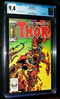 THE MIGHTY THOR #340 1984 Marvel Comics CGC 9.4 NM White Pages