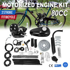 80cc 2 Stroke Petrol Gas Motor Engine Kit for Motorised Bicycle Push Bike